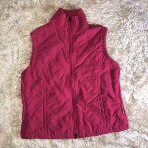 Columbia Knit Vest Pink Size M